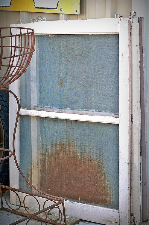 White Window Screen
