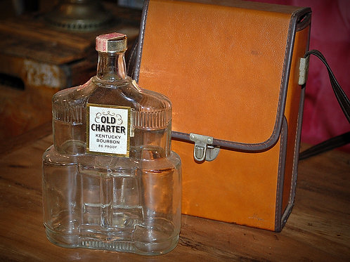 old charter whisky, bottle, binocular bottle, liquor, decor, table top, wedding, groom