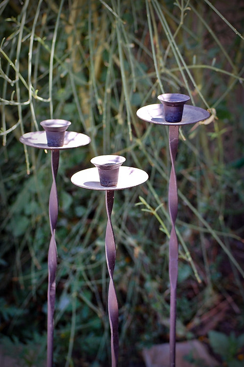 yard candlestick, decor, lighting, event, wedding, rental