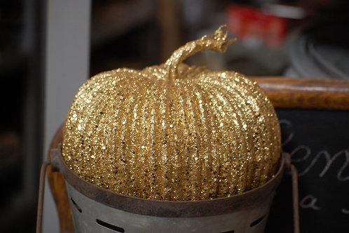 pumpkin, gold, glitter, decor, rental