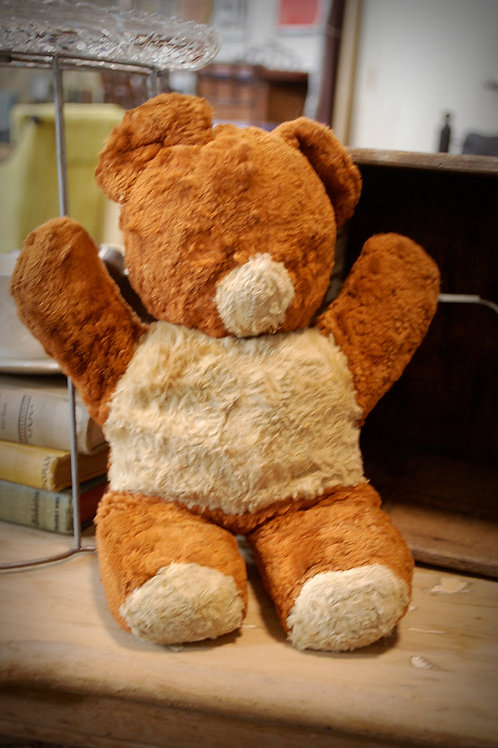 vintage stuffed bear child party event rental