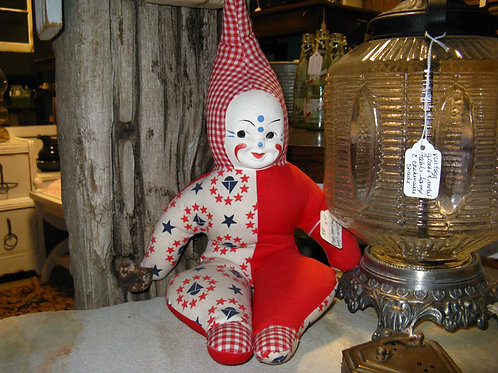 clown doll toy child decor party event baby shower rental