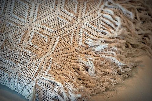 White Crochet Duvet
