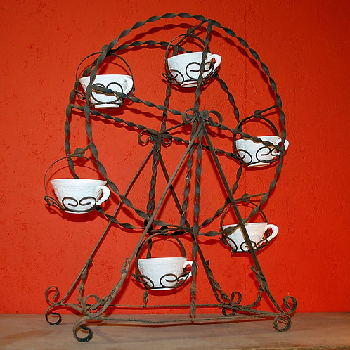 decorative metal, farris wheel, serving, wedding, rental