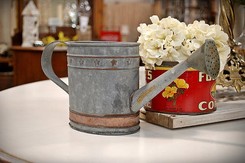 watering can, metal, decorative, display, serving