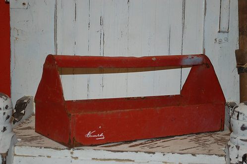 toolbox, tray, insert, serving, vessel, red