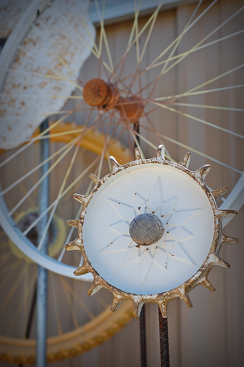 flowers, yard art, decor, wedding, party, rental, gear, wheel
