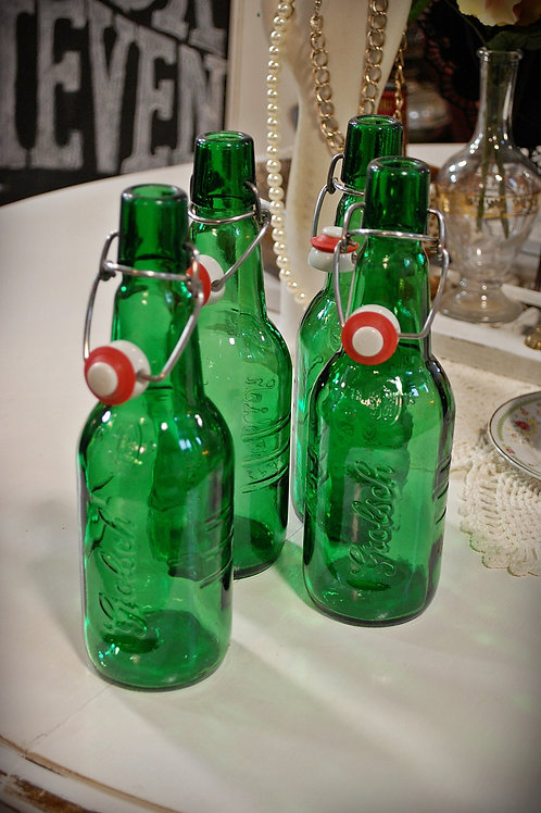 grolsch bottle, beer, decor, table top, wedding, groom