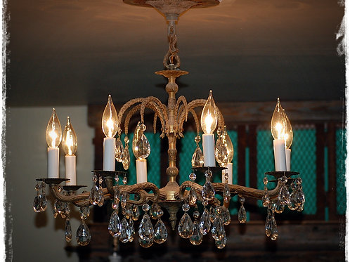 italian, brass, chandelier, lighting, decor, prop, wedding, rental