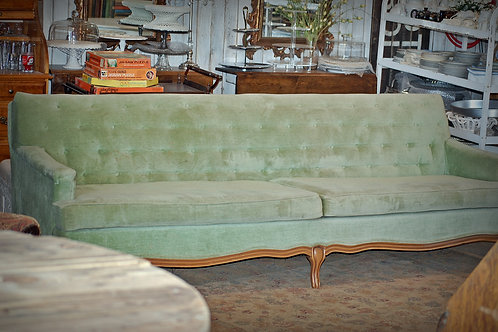 """Amy"" Green Sofa"