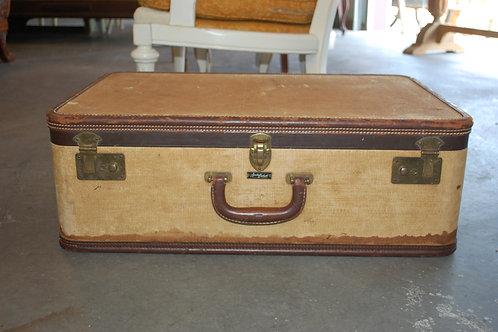 Lg. Beige Suitcase