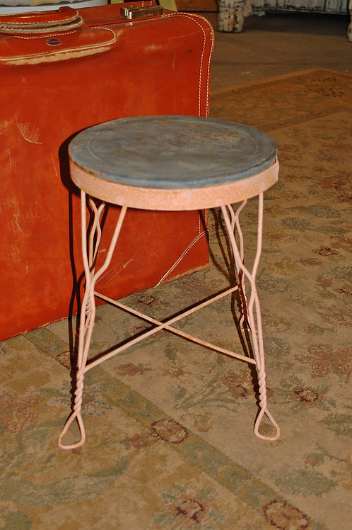 child stool seating pink cake display baby shower party event rental