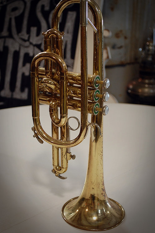cornet, music, instrument, decor, prop, rental