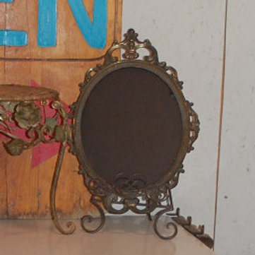 ornate metal frame chalkboard