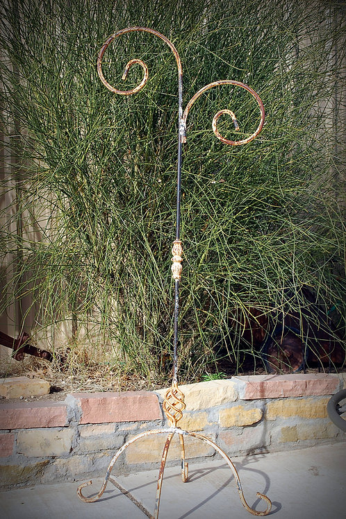 plant hanger, metal, rustic, wedding, rental