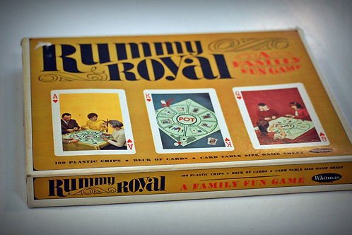 rummy royal family fun table top game vintage entertainment party event wedding decor