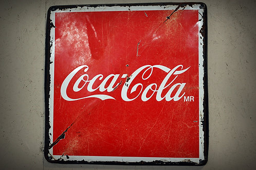 coca cola, sign, advertising, display, party decor, serving, bar, drink station, reception