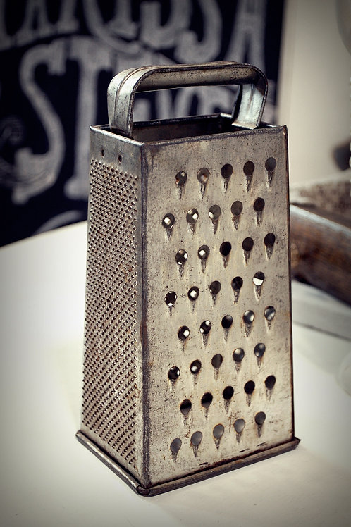 metal, cheese grater, table top, kitchen, decor, rental