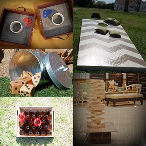 game package yard fun outdoor party event wedding entertainment