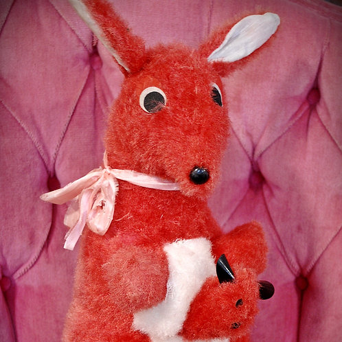 kangaroo stuffed animal toy child party event baby shower decor rental