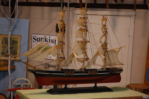 model ship, cutty sark, decor, prop, rental