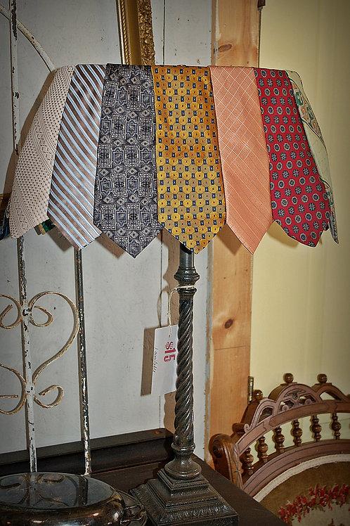 mens tie lamp, table top, decor, lighting, groom, wedding, rental