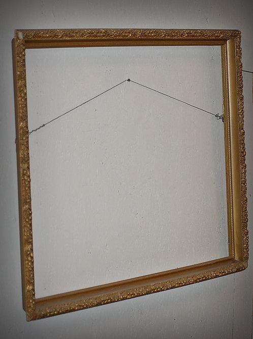 extra large vintage gold frame