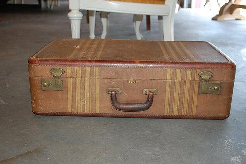 Med.Beige/Stripe Suitcase