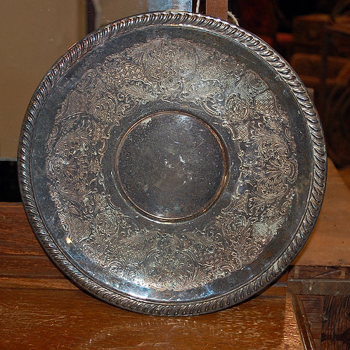 silver tray, serving, table top, decor, event, rental