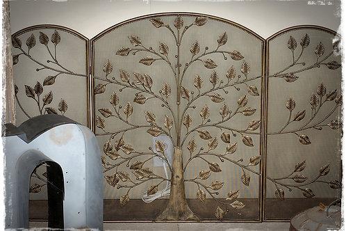 fireplace screen, brass, decor, wedding, rental