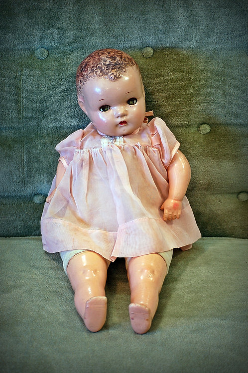 1950's era doll decor child party event baby shower photography rental