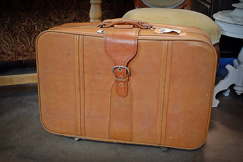 Lt. Brown Suitcase