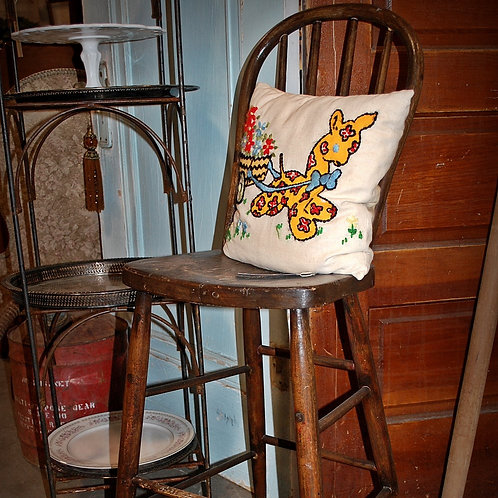 vintage bentwood highchair decor party event baby shower