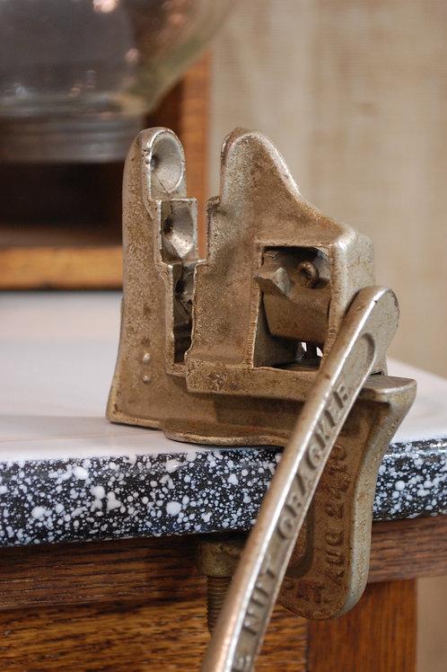 nut cracker, metal, counter top, kitchen, utensil, decor, prop, rental