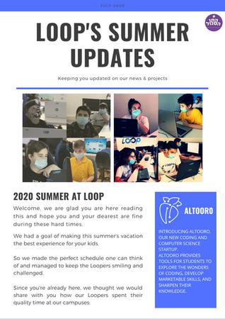 Loop Summer Newsletter