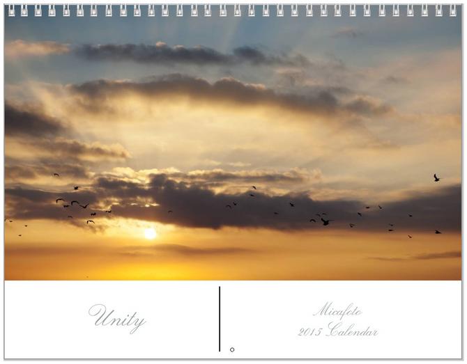"""2015 Micafoto Original Calendar """"Unity"""""""