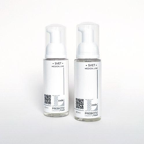 L-Code PREBIOTIC ПІНА для очищення шкіри 80 мл