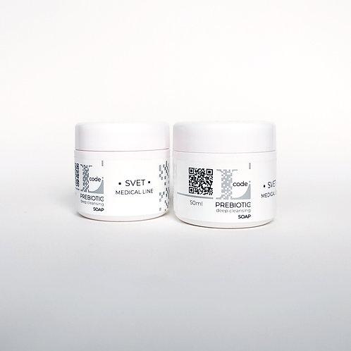 L-Code PREBIOTIC Мило для глибокого очищення шкіри 50 мл