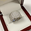 Thumbnail: Brilliant Cubic Zirconia Men's Ring In .925 Sterling Silver