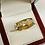 Thumbnail: .90 CTW Men's Diamond Band In 14K Yellow Gold