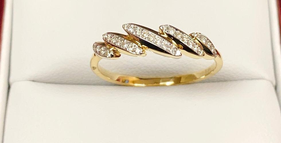Diamond Band .10ctw In 14K Yellow Gold