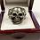 Thumbnail: Men's Skull & Cross Bones Ring in .925 Sterling Silver