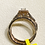 Thumbnail: .50 ctw Diamond Halo Engagement Ring In 14k Rose Gold