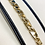 Thumbnail: 8mm Gucci Links Semi Hollow Bracelet In 14K Yellow Gold 8.5""