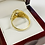 Thumbnail: Oval Cubic Zirconia Men's Ring in 14K Yellow Gold