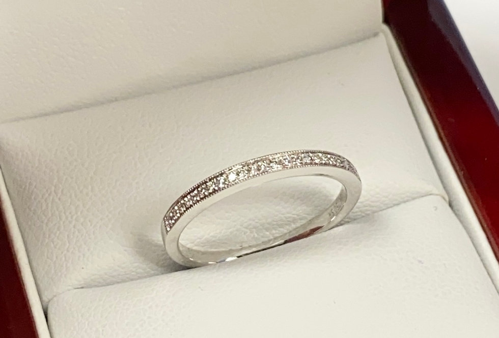 .23 ctw Diamond Band In 18K White Gold