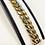 Thumbnail: 13mm Semi Hollow Miami Cuban Bracelet In 10K Yellow Gold