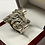 Thumbnail: Madhatter Skull Ring In .925 Sterling Silver