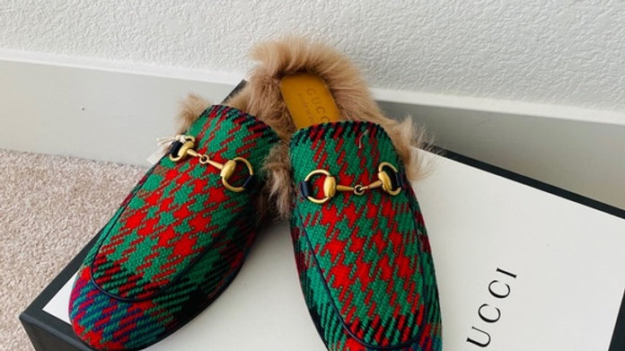 New Gucci Unisex Slipper men size 7 women size 10