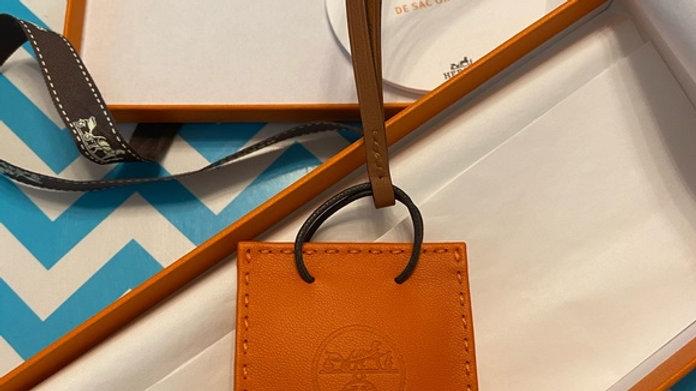 Hermes Little Orange Bag